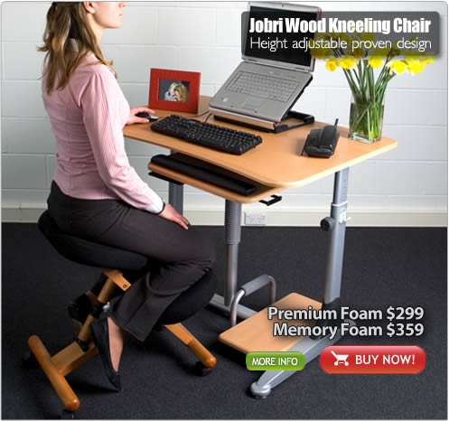 Jobri Wood Kneeling Chair