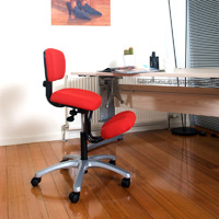 Image of qdos 'Vivid' Kneeling Posture Chair